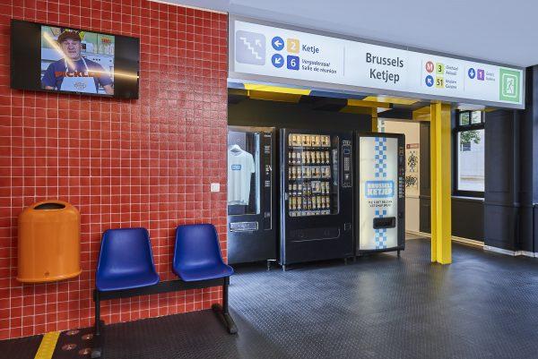 Metro Station Brussels Ketjep