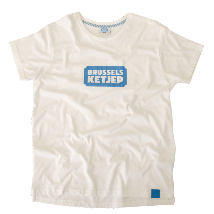 Brussels Ketjep white T-shirt