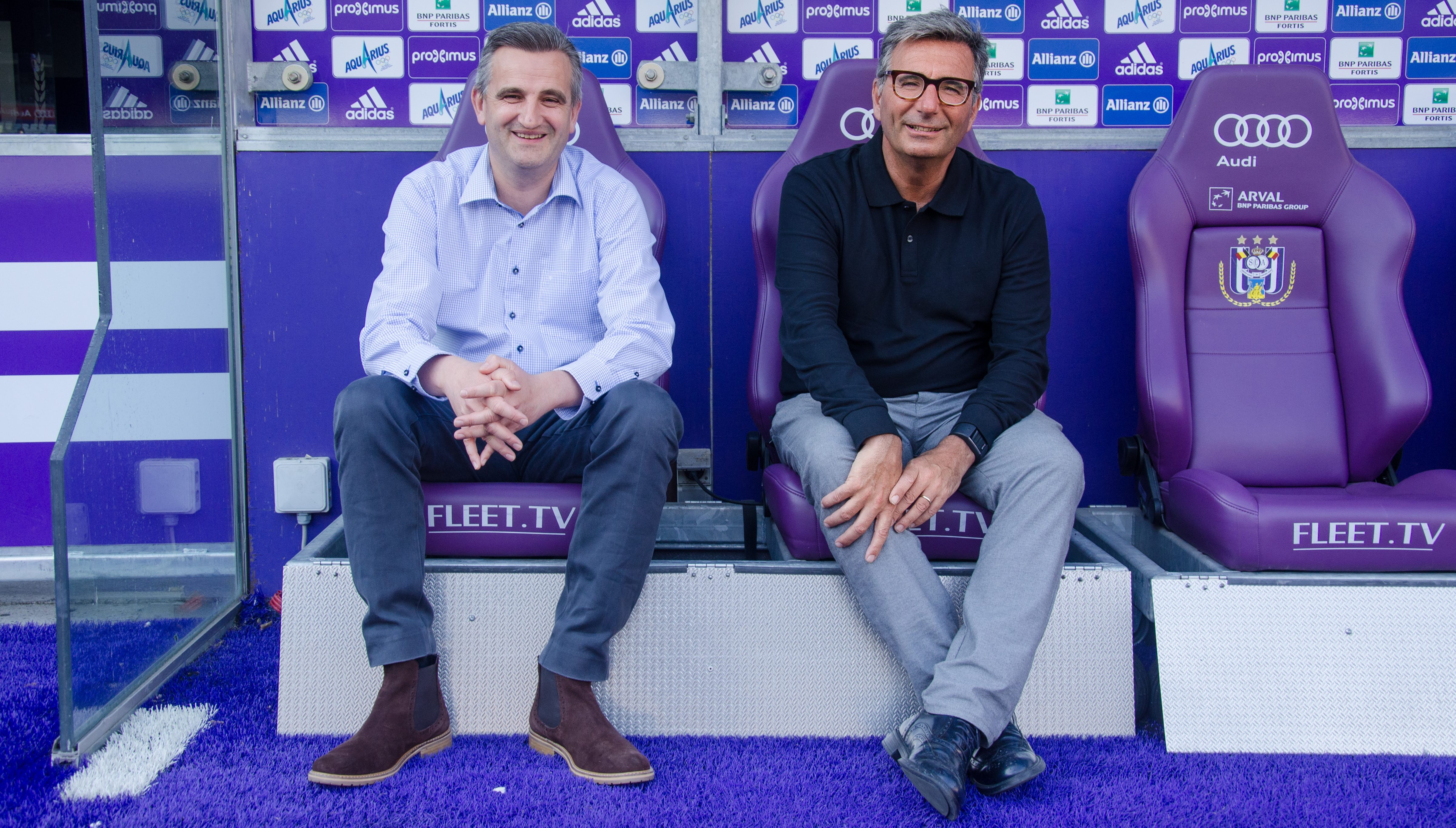 Anderlecht interview