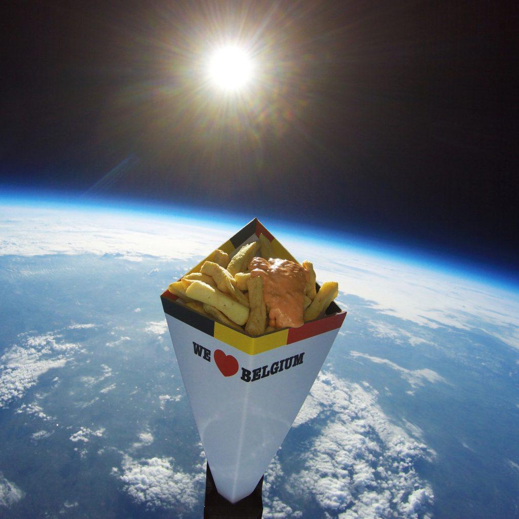 Space fries