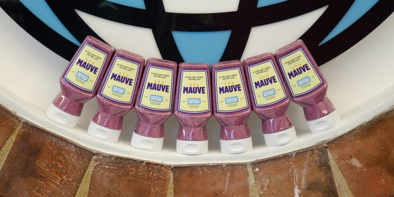 Mauve sauce